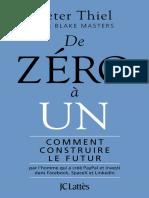 De zéro à un by Thiel Peter [Peter, Thiel] (z-lib.org).epub