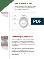 Aula 05. Níveis organizacionais e de atuação da ARH