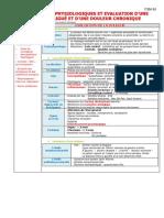 Item 65 Bases Neurophysiologiques Et Evaluation d'Une Douleur Aiguë Et d'Une Douleur Chronique