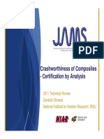 Crashworthiness of Composites - certification by analysis