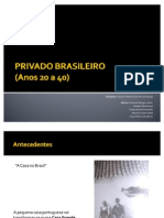 power point_A VALORIZAÇÃO DO ESPAÇO PRIVADO BRASILEIRO