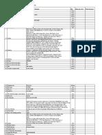 Office Equipment List (SAMPLE)