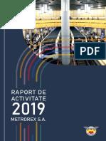 Raport Activitate Metrorex 2019_ro