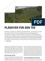 Plädoyer fur den Tee
