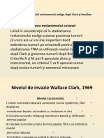 Nivelurile clasificării melanomului malign după Clark și Bresllow