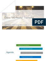 Cisco 5G Transport