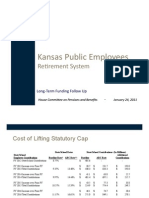 Long Term Funding Presentation by KPERS Executive Director Glenn Deck (Jan. 24, 2011)
