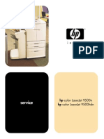 Hp Color Laserjet 9500 Service Manual