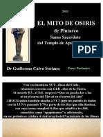 El Mito de OSIRIS de Plutarco - revisión - Antiguo Egipto