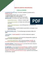 Semiologie du systeme reproducteur