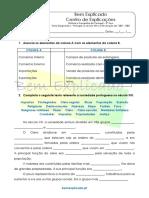 B.1 Teste Diagnóstico - Portugal No Século XIII e a Revolução de 1383 - 1385 (1)