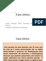 Caso Clinico Tens e Laser