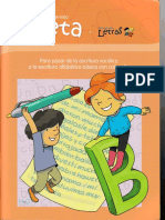 Cuadernillo Beta programa letras