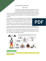 Especificación de materiales de construcción