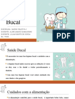 Slide Saúde Bucal