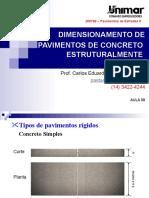 200799-Pav II - Aula 09 - Pavimentos Estruturalmentes Armados(2) (1)