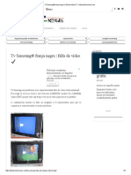Tv Samsung® franja negra _ falla de vídeo ✔ _ Fallaselectronicas