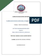 Cuestionario I-Ley 5136 Ana Beatriz Coronel