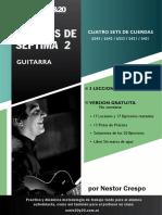 Acordes de Septima 2 - Guitarra - Nestor Crespo - Gratis