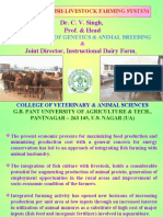 Integrated Fish-Livestock Farming System