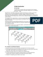 Part2 G01 MasterFrame FlatSlab Construction