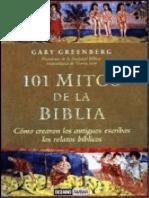 101 mitos de la Biblia - Gary Greenberg