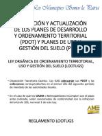 APROBACIÓN Y ACTUALIZACIÓN DE LOS PLANES DE DESARROLLO