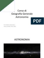 Slide - Corso completo di Astronomia