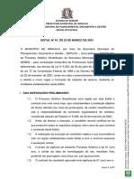 Edital n01 2021 Pss Semed Publicado