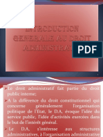 Introduction Generale Au Droit Administratif