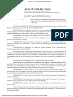 RESOLUÇÃO Nº 1, DE 7 DE FEVEREIRO DE 2019