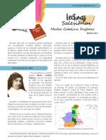 Lectura Salesiana Madre Catalina Daghero