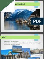 Österreich - Wien und Innsbruck