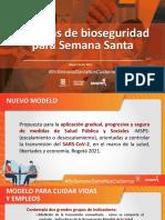 Medidas para Semana Santa en Bogotá