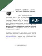 CARTA  CESIÓN DE DERECHOS F