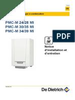 De Dietrich Pmc-m24 Notice