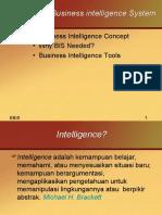 Pengantar Business Intelengence System