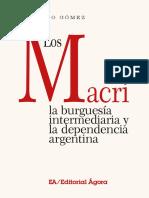 Los Macri, la burguesía intermediaria y la dependencia argentina - Arnoldo Gómez (2019)