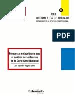 ANALISIS DE SENTENCIA C 830-10