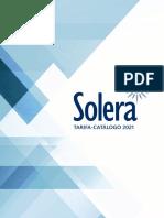 202103 Solera Catálogo Tarifa 2021