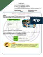 Guía N°4 Población, muestra y variables estadísticas