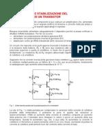 polarizzazione transistor