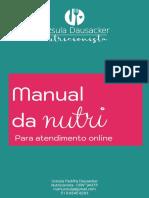 Manual da Nutri