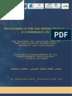e-conference program EST, khenifra