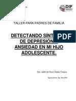 Taller Papás - Depresion y Ansiedad