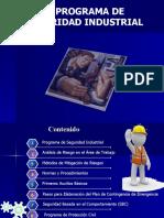 7.1 PROGRAMA DE SEGURIDAD INDUSTRIAL