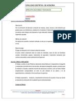 4.5 ESPECIFICACIONES COMPOSTERA