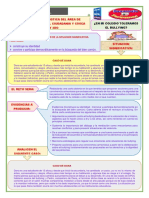 EVALUACION DIAGNOSTICA 1 Y 2 DPCC
