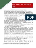 MODO PETISTA DE GOVERNAR