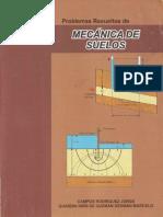 CAPITULO 1 AL 3 PROBLEMAS RESUELTOS DE MECÁNICA DE SUELOS I - II - JORGE CAMPO RODRIGUEZ-C